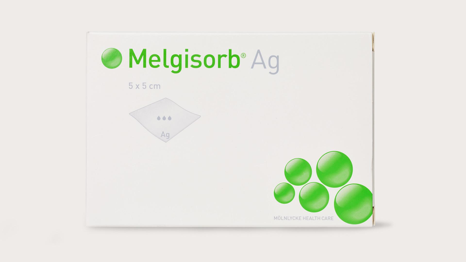 Упаковка Melgisorb Ag